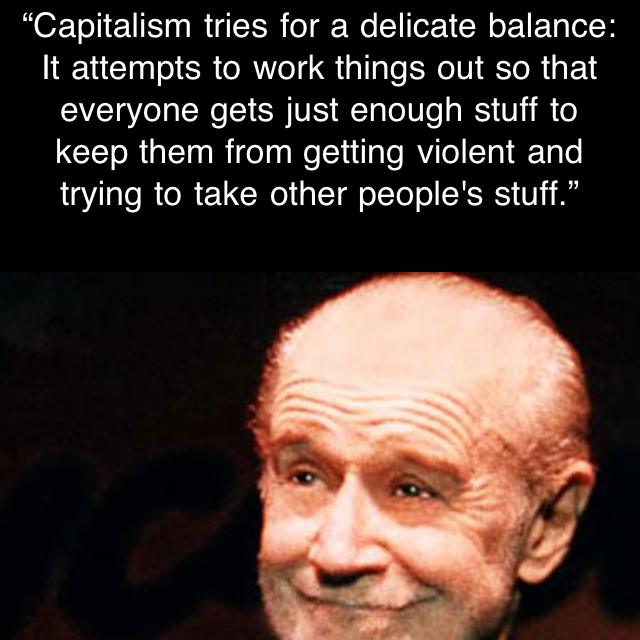 The Daily Carlin Quote